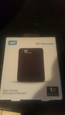 New External Hard Drive